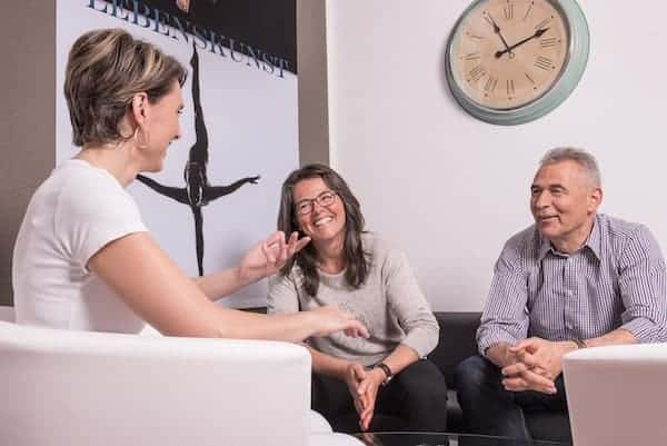 Paare beraten in der PRAXIS für Gesundheit und Lebensfreude, Meggen, Luzern, Schweiz